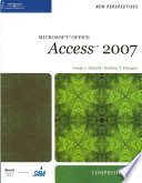 New Perspectives on Microsoft Office Access 2007  Comprehensive
