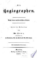 Die Hagiographen