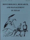 Dove Biology  Research  and Management in Texas