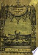 Einsiedler-Kalender. (Einsiedler-Calender)