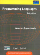 Programming Languages  Concepts   Constructs  2 E