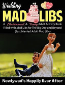 Wedding Mad Libs  Newlywed s Happily Ever After