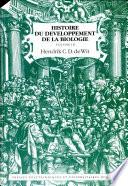 Histoire du développement de la biologie