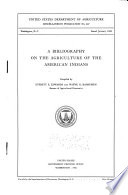 A Bibliography on the Agriculture of the American Indians Table Of Contents And Is Comprehensive