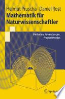 Mathematik f  r Naturwissenschaftler