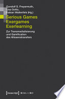 Serious Games  Exergames  Exerlearning