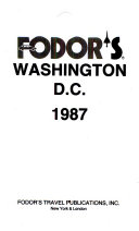 Fodor s Washington D C   1987