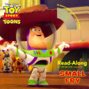 Toy Story Toons  Small Fry Read Along Storybook and CD