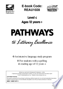 Pathways to Literacy Excellence