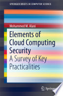 Elements of Cloud Computing Security