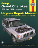 Jeep Grand Cherokee 1993 thru 2004