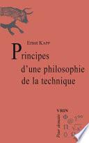 illustration Principes d'une philosophie de la technique