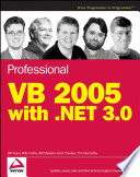 Professional Vb 2005 With Net 3 0