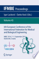 6th European Conference of the International Federation for Medical and Biological Engineering