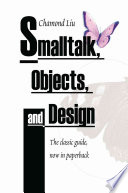 Smalltalk  Objects  and Design