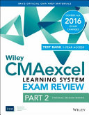 Wiley Cmaexcel Learning System Exam Review 2016 Part 2 Financial Decision Making 1 Year Access