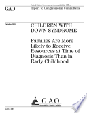 Children With Down Syndrome