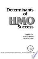 Determinants Of Hmo Success