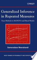 Generalized Inference In Repeated Measures