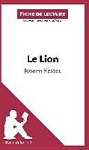 Le Lion de Joseph Kessel (Fiche de lecture)