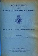 Bollettino della Reale Societ   geografica italiana