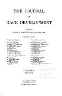the journal of race development