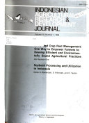 Indonesian Agricultural Research   Development Journal