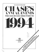 Chase S Annual Events book