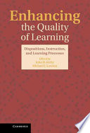 Enhancing The Quality Of Learning
