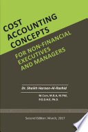 Cost Accounting Concepts for Nonfinancial Executives and Managers