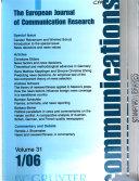 Revue internationale de la recherche de communication