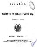 Protokolle der deutschen Bundesversammlung...: 1820.-Bd. 11-12. 1821