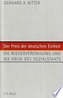 Der Preis der deutschen Einheit