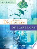Dictionary of Plant Lore Book PDF