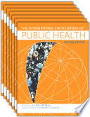 International Encyclopedia Of Public Health