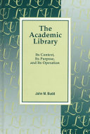 The Academic Library book