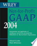 Wiley Not for Profit GAAP 2004