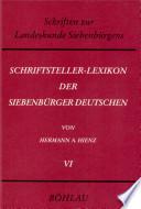 Schriftsteller-Lexikon der Siebenbürger Deutschen
