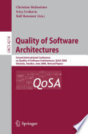 quality-of-software-architectures