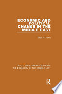 Economic and Political Change in the Middle East  RLE Economy of Middle East