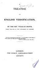 A Treatise on English Versification