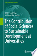 The Contribution of Social Sciences to Sustainable Development at Universities