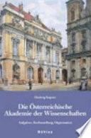 Die Österreichische Akademie der Wissenschaften