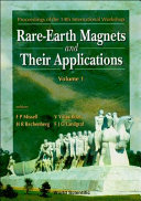 Rare Earth Magnets And Their Applications book