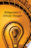 Wittgenstein's Ethical Thought