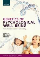 download ebook genetics of psychological well-being pdf epub
