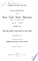 Lime and Cement Industries of New York
