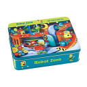 Robot Zone 100 Piece Puzzle Tin