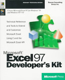 Microsoft Excel 97 Developer s Kit