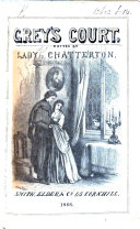 download ebook grey\'s court. a novel. edited by georgiana lady chatterton pdf epub